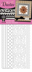 Dazzles Collection Double-Stick Border Stickers by Hot Off The Press