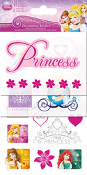 Disney Princess Collection Decoration Medley Scrapbook Embellishment by Sandylion