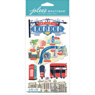 Destination Collection London, England Large Scrapbook Embellishment by Jolee's Boutique