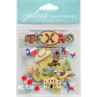 Texas Scrapbook Embellishment by Jolee's Boutique