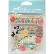 Hawaii Scrapbook Embellishment by Jolee's Boutique