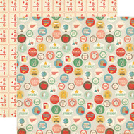 Teacher's Pet Collection School Days 12 x 12 Double-Sided Scrapbook Paper by Echo Park Paper