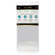 iCraft Collection Silver 6 x 12 Deco Foil Transfer Sheets by Thermoweb - 20 Pieces