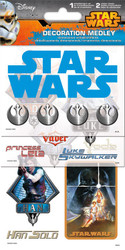 Disney Collection Star Wars Decoration Medley Stickers & Embellishment by Sandylion
