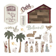 Luke 2 Collection Ephemera Die Cuts by Photoplay - 24 Pieces