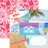 Paradise Found Collection Paradise Found Tags 12 x 12 Double-Sided Scrapbook by Paper House Productions