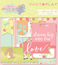 About A Little Girl Collection Ephemera Die Cuts by Photoplay Paper - 26 Designs