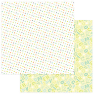 About A Little Boy Collection Lullaby 12 x 12 Double-Sided Scrapbook Paper by Photoplay Paper