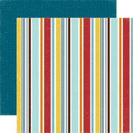 Bark Collection Puppy Stripe 12 x 12 Double-Sided Dog Scrapbook Paper Alisha Gordon & Echo Park Paper