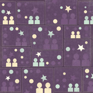 Terrific Twins Collections Twice The Love 12 x 12 Scrapbook Paper by Karen Foster Design