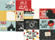 Say Cheese 3 Collection 4 x 6 Horizontal Elements 12 x 12 Double-Sided Scrapbook Paper by Simple Stories