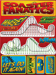 Signature Series Collection  Coaster Fanatics 5 x 6 Scrapbook Embellishment by Reminisce