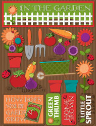 Signature Series Collection In The Garden 5 x 6 Scrapbook Embellishment by Reminisce