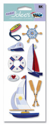 Sailboats Vacation Scrapbook Embellishment by EK Success