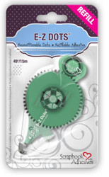 E-Z Dots Repositionable Dots Refill by Scrapbook Adhesives - 49'