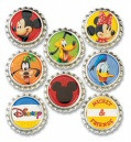 Disney Mickey Mouse & Friends Collection Mickey Mouse Bottle Cap Set by EK Success