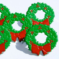 Christmas Wreath Brads by Eyelet Outlet - Pkg. of 12