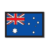 "Australia Laser Cut Flag - 5 3/4"" by Scrapbook Customs"