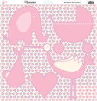 Baby Basics Collection Baby Girl Icons Adhesive Sticker Sheet by Reminisce