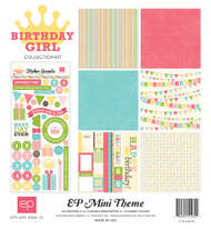 Birthday Girl Collection Birthday Scrapbook Page Kit by Echo Park Paper
