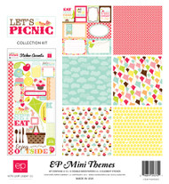 Let's Picnic Collection Scrapbook Page Kit by Echo Park Paper
