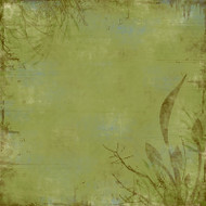 Outdoor Collection Vegetation 12 x12 Scrapbook Paper by Scrapbook Customs