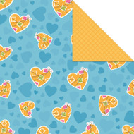 We're Adopting! Collection Mended Hearts Double-Sided 12 x 12 Paper by Creative Imaginations