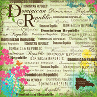 Paradise Collection Dominican Republic 12 x 12 Scrapbook Paper by Scrapbook Customs