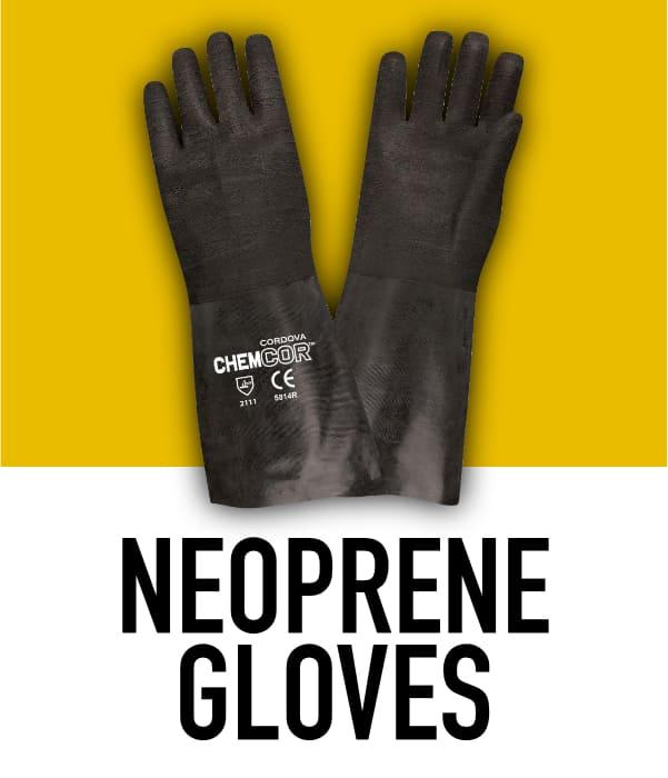 Neoprene Rubber Gloves