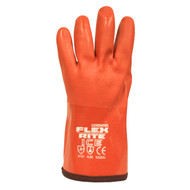 FLEX-RITE ICE™ Red PVC Coated Gloves, Textured Finish, Thermal Lined, 12-INCH (Dozen)