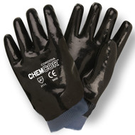 CHEM-COR™ Supported Neoprene Gloves, Jersey Lined, Smooth Finish, Knit Wrist (Dozen)