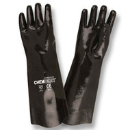 CHEM-COR™ Supported Neoprene Gloves, Jersey Lined, Smooth Finish, 18-INCH (Dozen)