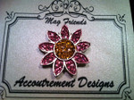 Daisy pink Glamorous MAGNET Accoutrement Designs