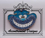 Cheshire blue Monster MAGNET Accoutrement Designs