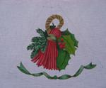 "Ann Wheat Pace 211D 13 Mesh Tree Skirt Section 9.75"" x 11.25"" Tassel"