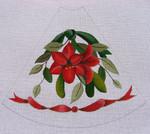 "Ann Wheat Pace 211E 13 Mesh Tree Skirt Section 9.75"" x 11.25"" Amaryllis"