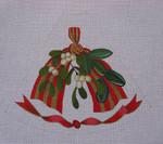 "Ann Wheat Pace 211F 13 Mesh Tree Skirt Section 9.75"" x 11.25"" Mistletoe & Magnolia"