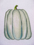 Ann Wheat Pace 252D 18 Mesh Pumpkin Includes Stitch Guide White