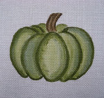 Ann Wheat Pace 252J 18 Mesh Pumpkin Includes Stitch Guide Small Green