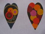 """Ann Wheat Pace 611B 9.75"""" x 6.5"""" 18 Mesh Summer Floral SCISSOR CASE"""