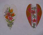 """Ann Wheat Pace 611C 9.75"""" x 6.5"""" 18 Mesh Floral Rounds SCISSOR CASE"""