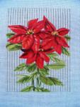 """Ann Wheat Pace 712 Poinsettia 18 Mesh 6'x 8"""""""
