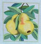 """Ann Wheat Pace 721 18 Mesh Pears 7.75"""" x 8.75"""""""