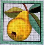 "Ann Wheat Pace 735B 4"" x 4"" Pear  COASTER 18 Mesh"