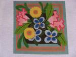 """Ann Wheat Pace 740A 18 Mesh Churchill Floral 12"""" x 12"""""""