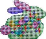 BR-309 Associated Talents Egg Confetti Baby Bunny