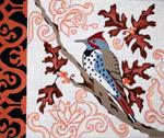 B315  Melissa Prince Fall Bird 12 x 10