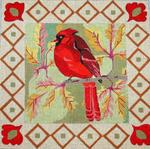 B316 Melissa Prince Cardinal 12 x 12