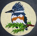 "B321 Melissa Prince 4"" round Kingfisher"
