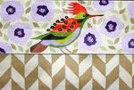P1118  Melissa Prince 11 x 17 Bird Folded Clutch